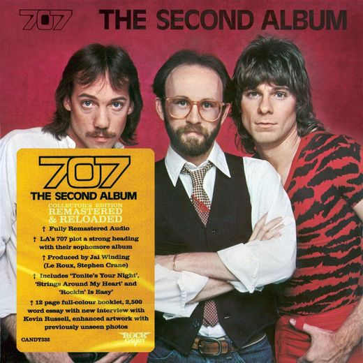 707 - The Second Album [Rock Candy remastered] (2017) full