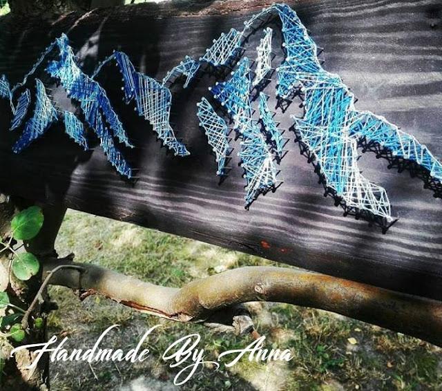 Góry metodą String Art