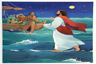 uno entró en el pantano corriendo a tal velocidad que parecía Jesús andando sobre las aguas.