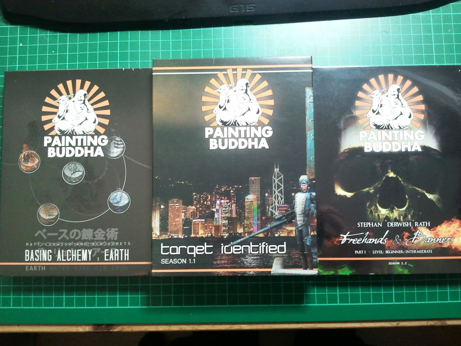 All Painting Buddha Season 1 DVDs