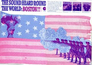 the soound heard round the world: boston