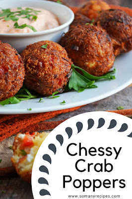 Cheesy Crab Poppers Recipe