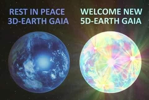 Trái Đất, nhân loại và sự thăng lên chiều kích 5D trong kỷ nguyên ánh sáng