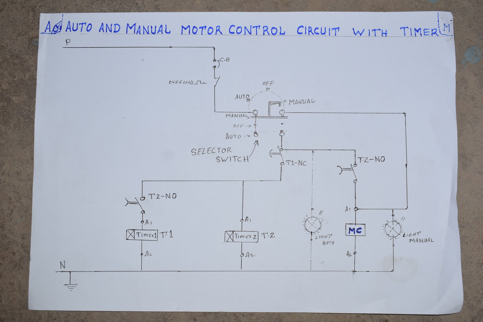 motor circuits intr practical in urdu