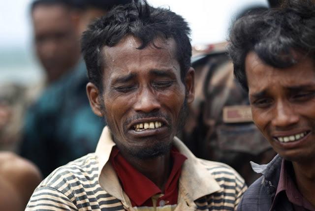 Pedihnya Nasib Muslim Rohingya yang Kabur ke Bangladesh Karena Diburu Militer