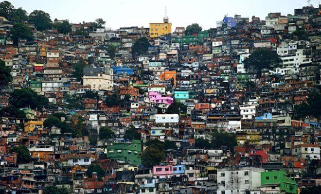 Rocinha favela, Rio de Janeiro - Brazil