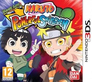 Naruto Powerful Shippuden, 3DS, Español, Mega, Mediafire
