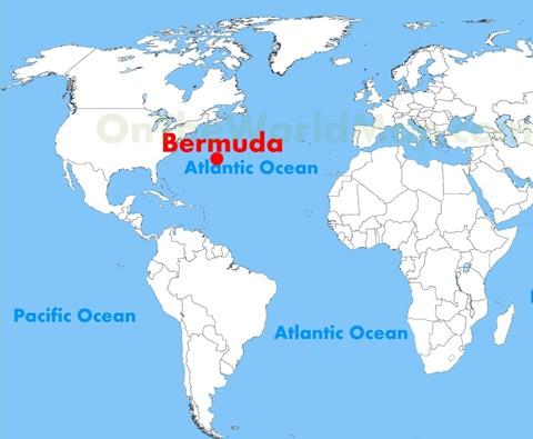 Bermuda Dünyanın Neresinde