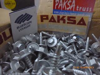 pemasangan sekrup baja ringan screw mur baut yang terbaik buanapaksa