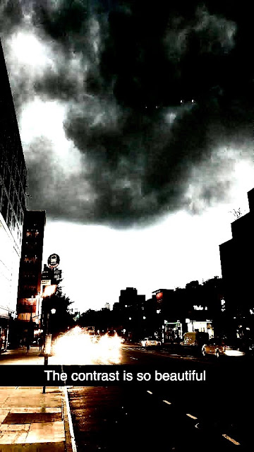 Black triangle UFO caught on camera in Brooklyn New York.