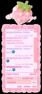 bingkai cbox pink cute