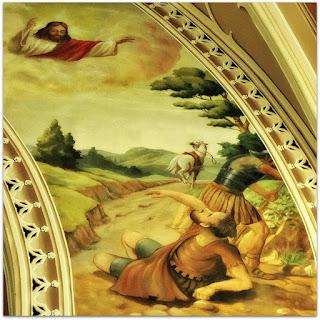 Mural de Jesus Cristo Igreja São Pedro, Porto Alegre