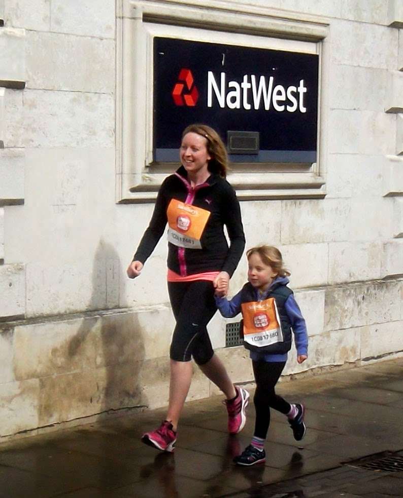 Sainsbury's Sport Relief 2014 Mile Fun Run on March 23 - picture on Nigel Fisher's Brigg Blog