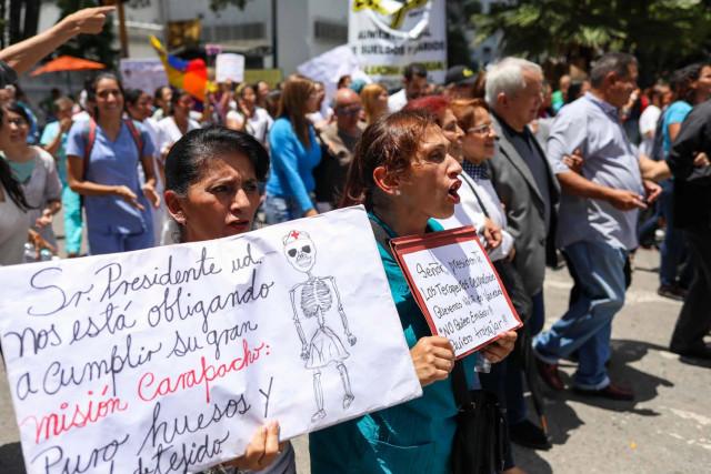 Gremio sanitario protestará este #8Ago ante el Ministerio de Salud por la crisis