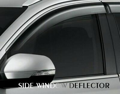 Side Window Deflector Pajero Sport
