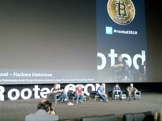 RootedCon 2019 - RootedPanel - Hackers Históricos