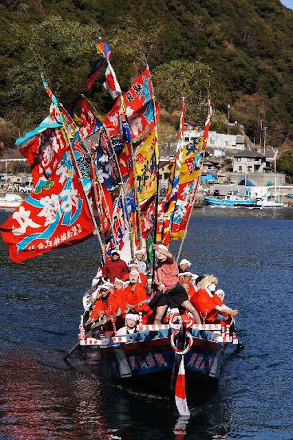 Haraso Matsuri (Fishermans' Festival), at Owase City, Mie
