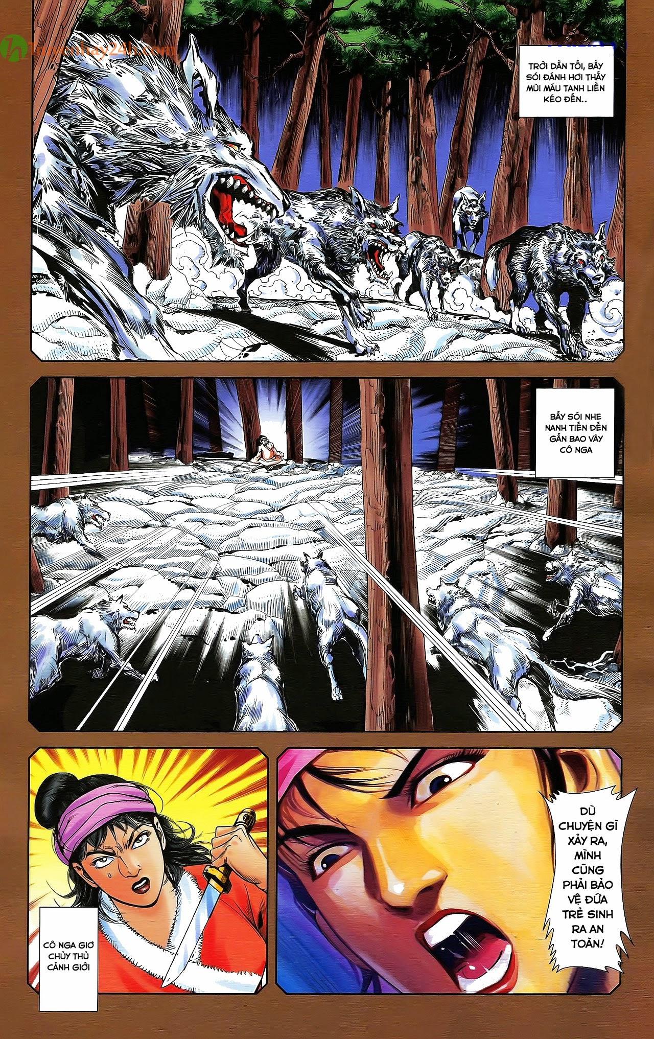 Tần Vương Doanh Chính chapter 29.2 trang 13