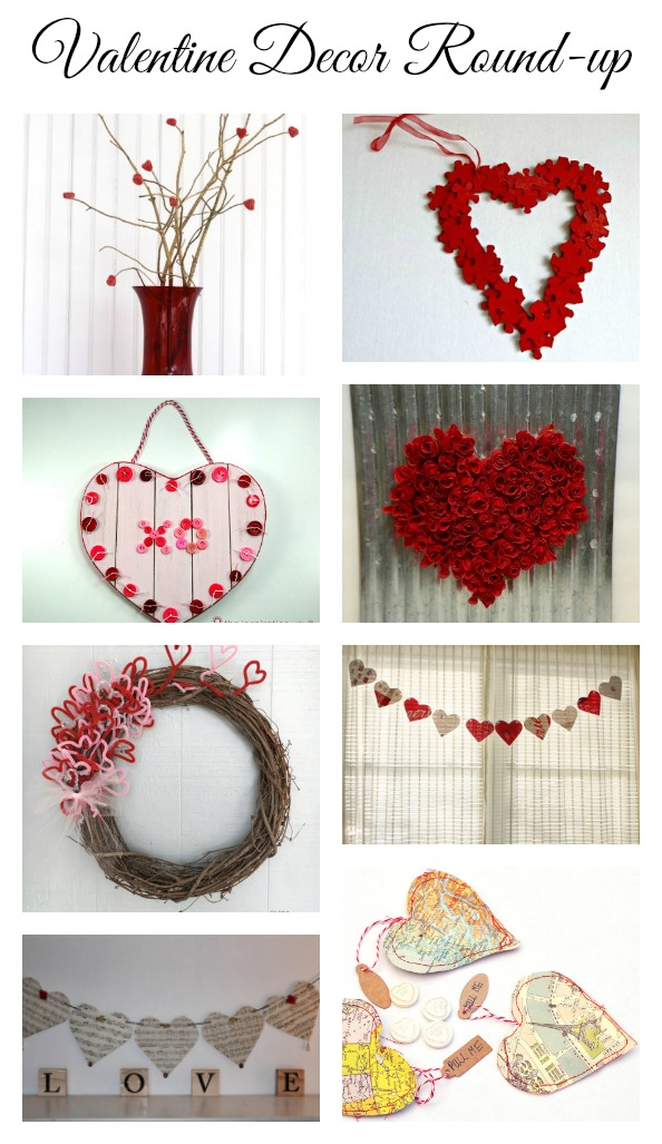 Valentine decor ideas diy love my simple home Diy valentine s day decorations for home