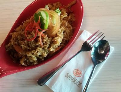 Restoran Sanoook Thai & Japanese Sunway Pyramid, Sanoook, tempat makan thai sedap, thai food, japanese food,