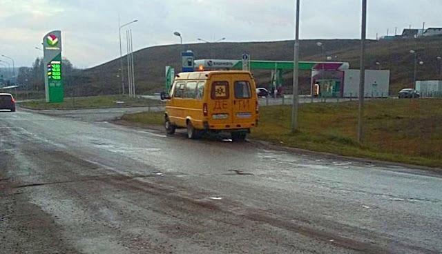 В Башкирии задержали пьяного водителя перевозившего детей