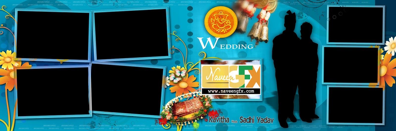 Indian Wedding 12x36 Album Photoshop Backgrounds Free Online Naveengfx