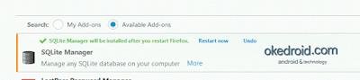 Meminta Restart Firefox