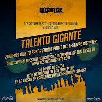 Talento Gigante, concurso de bandas