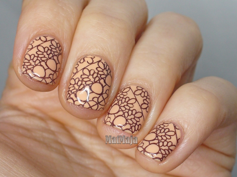 lakier Hean 872, stamping Emily de Molly EDM12