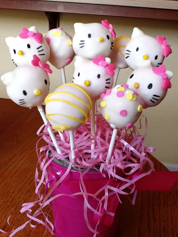 hello kitty cake pops - photo #5