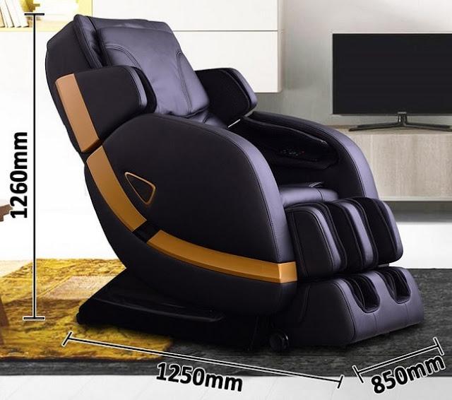 Chi tiết về ghế mát xa toàn thân Shika SK – 8900