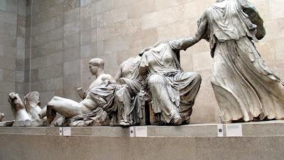 "British Museum director says ""No"" to return of Parthenon Sculptures"