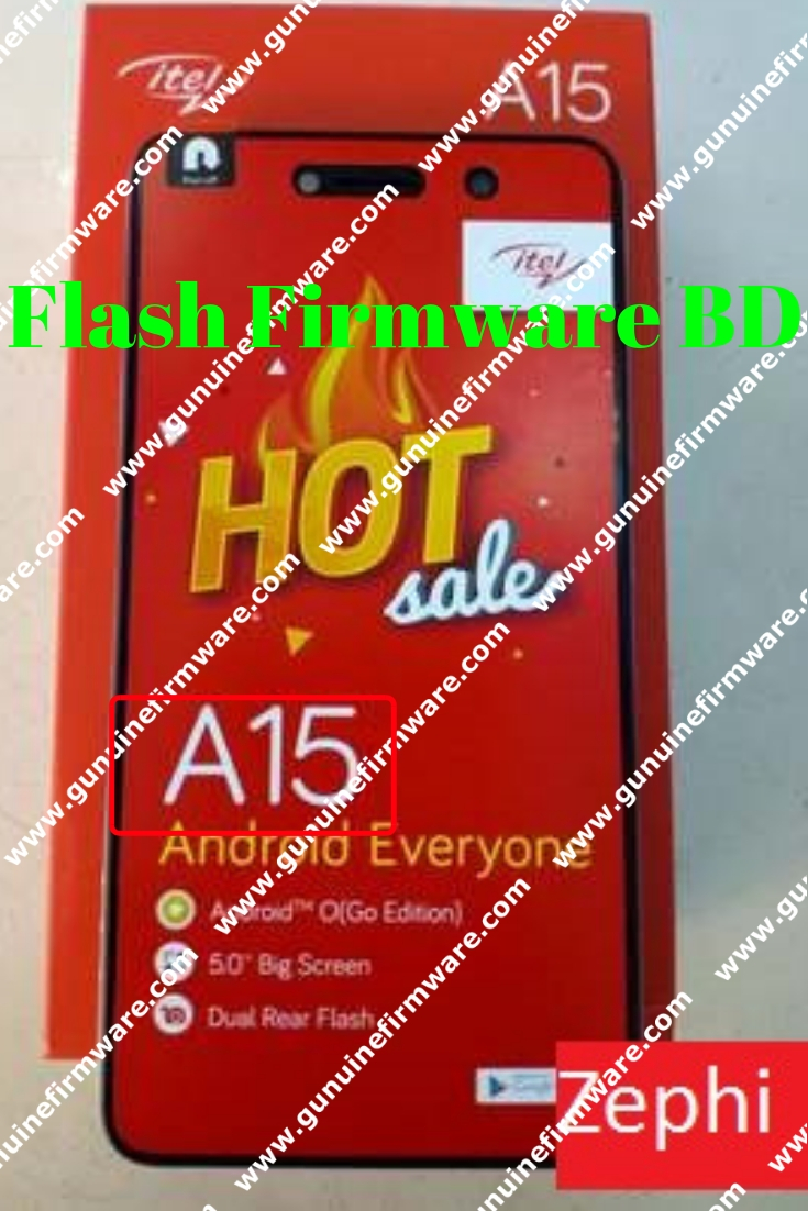 Itel A15 Flash File { Hang On Logo Fix } MT6580 8 1 Care Sing