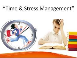 coping with stress by managing time