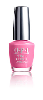 OPI Infinite Shine Spring '16 Rose Against Time