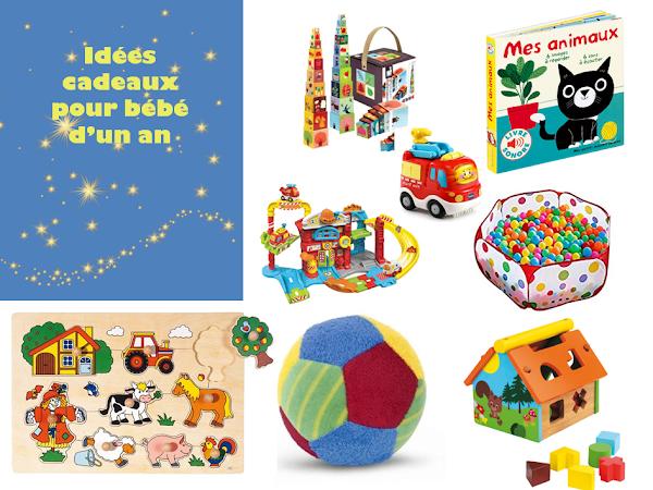 Idées cadeaux pour bébé d'1 an