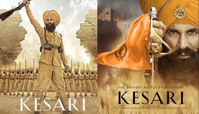 Keshari- A ture  story of the battle of Saragarhi