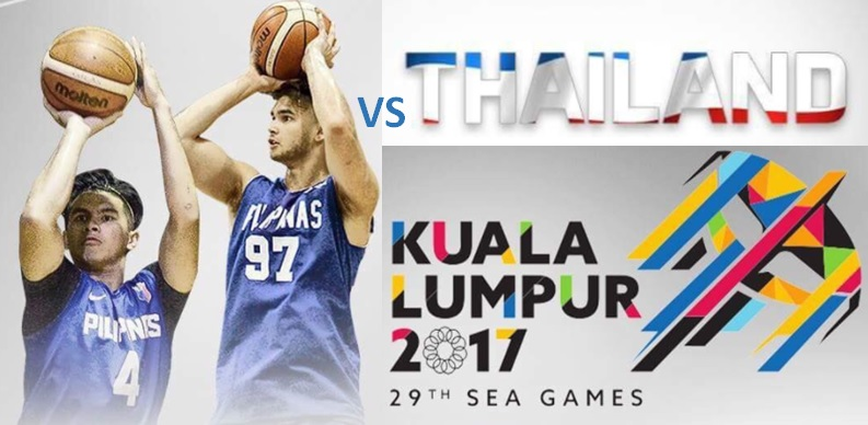 LIVESTREAM: Gilas Pilipinas vs Thailand SEA Games 2017