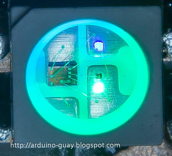 Árbol de Navidad Shield para Arduino con WS2812b