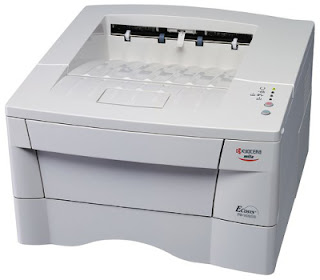 is my used printer I bought one-half a twelvemonth agone equally a successor of the same type  Kyocera FS-1010 Driver Download