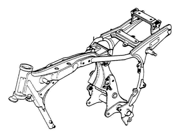 jenis rangka tulang pungung merupakan salah satu jenis rangka pada motor