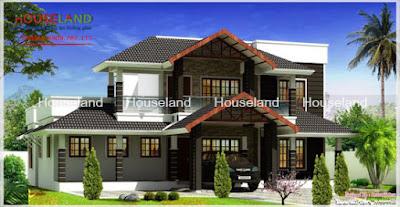 Những kiến trúc nhà mái thái đơn giản mà tinh tế sang trọng thu hút ánh nhìn