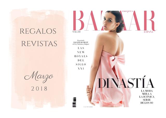 REGALOS REVISTAS MARZO 2018