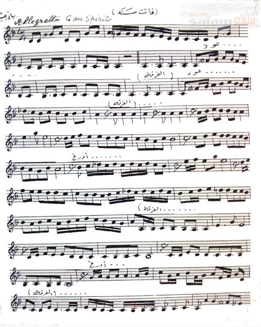نوتة موسيقية 🎵 فاتت سنة 🎵 كاملة ميادة الحناوي