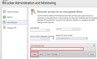 how to recover bitlocker encrypted drive