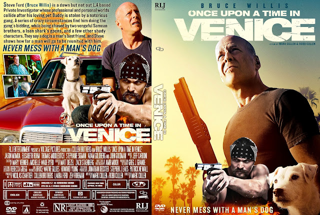 Once Upon a Time in Venice DVD Cover