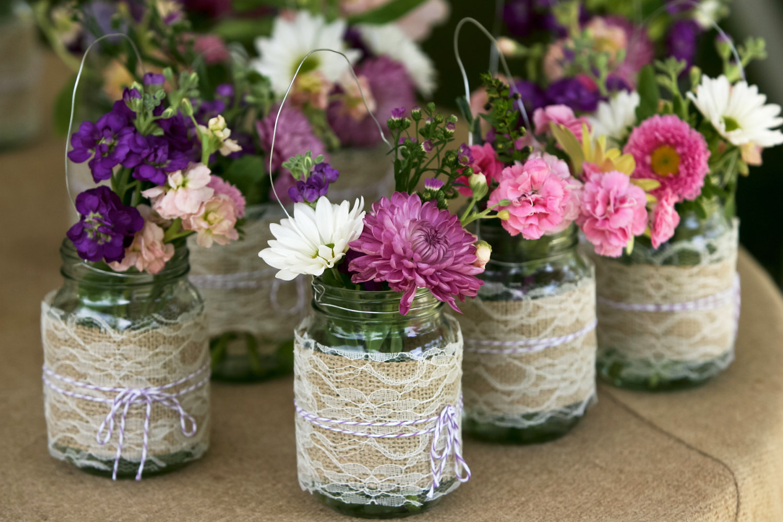 White Rose Weddings, Celebrations & Events: Jam Jar