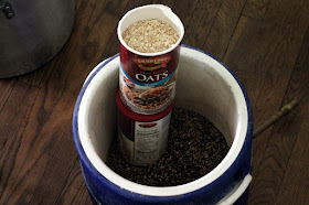 No need to mill grains that have been rolled, like these toasted quick oats.