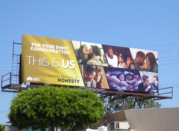 This Is Us 2017 Emmy consideration billboard