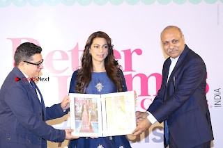 Bollywood Actress Juhi Chawla Launchs Better Homes 10th Anniversary Celetion Cover  0043.JPG